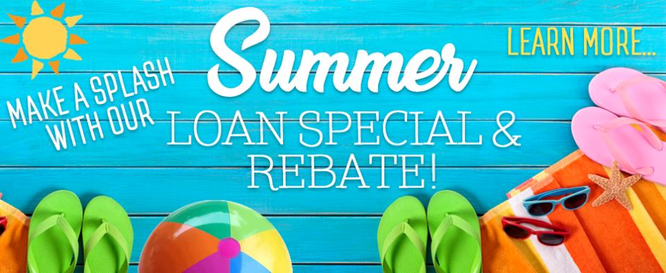 Summer Loan Specials 2017