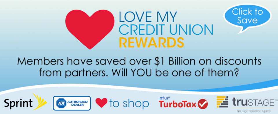 Link to Love My Credit Union Website