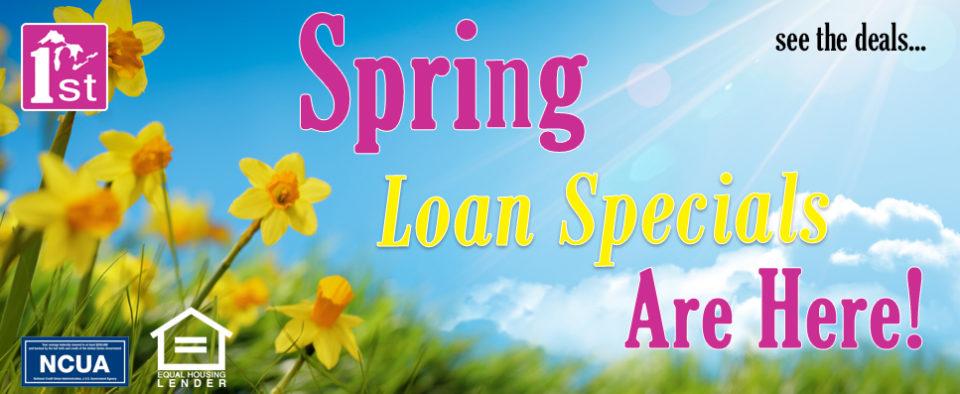 2018 Spring Loan Specials