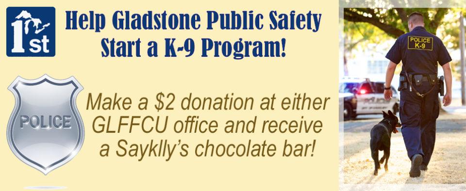 Gladstone k-9 program
