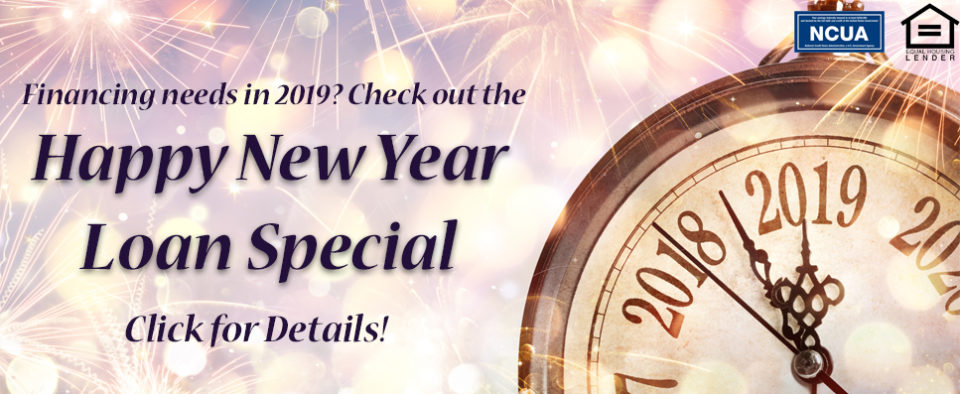 2019 Happy New Year Loan Special